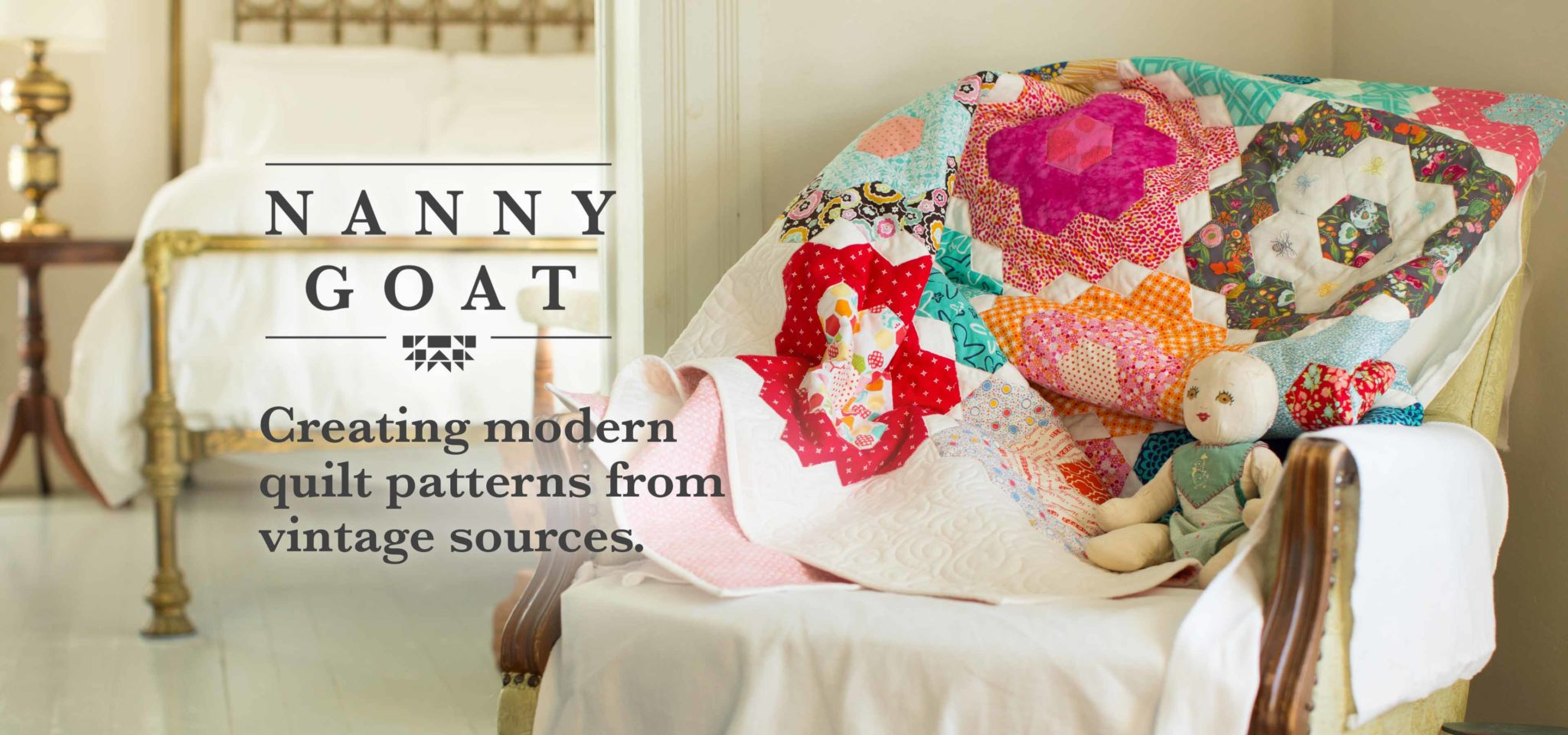 nanny goat: Creating modern quilt patterns from vintage sources