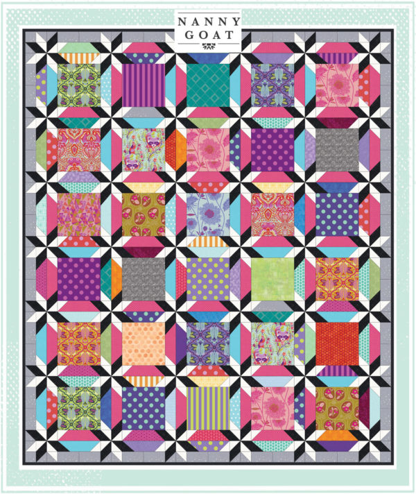 Diamond in the corner quilt pattern